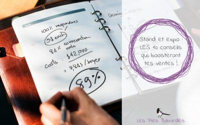 Stand et expo : LES 10 conseils qui boosteront tes ventes !