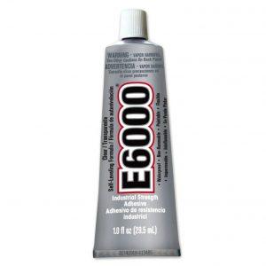 tube colle E6000