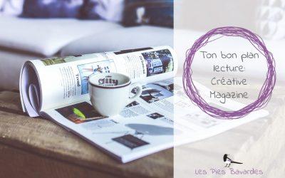 Ton bon plan lecture: Créative Magazine