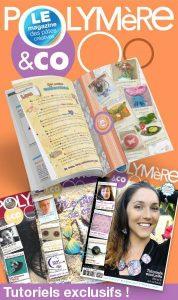 le magazine Polymère and co pour les créatives