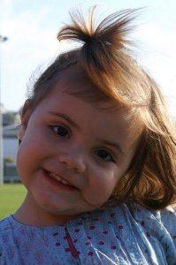 oriane à deux ans - les pies participent aux virades de l'espoir