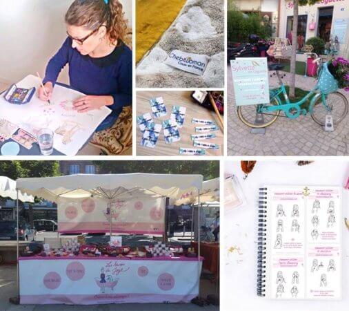 Corailindigo création étiquette textile, webdesigner