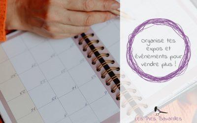 Organise tes expos et événements pour vendre plus !