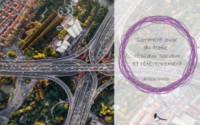 Comment avoir du trafic : réseaux sociaux et référencement