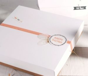 emballage cadeau pour la Saint Valentin par Selfpackaging