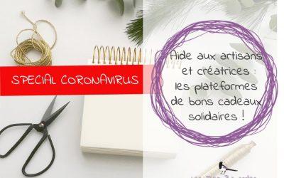 Soutien aux artisans et créatrices : les plateformes de bons cadeaux solidaires !