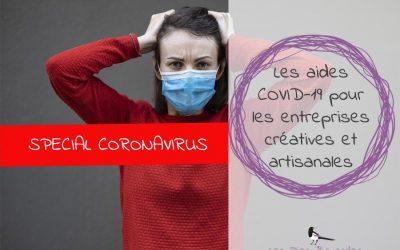 Les aides COVID-19 pour les entreprises créatives et artisanales